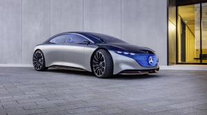 Mercedes Vision EQS prináša závan budúcnosti, ale nie vzdialenej