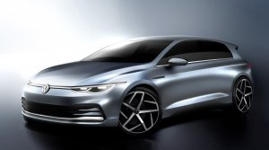 Volkswagen ukázal prvé skice nového Golfu