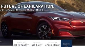 Unikli fotky, ceny a podrobnosti o novom elektrickom Mustangu s názvom Mach-E