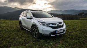 Test: Hybridná Honda CR-V 4x4 vyniká mestskou spotrebou