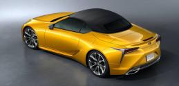 Krásny kabriolet Lexus LC sa ukazuje v nových farbách