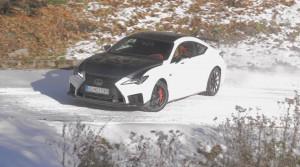 Test: Lexus RC F V8 5.0 Track Edition sme vyskúšali na zasnežených cestách