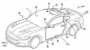 Ford si patentoval obrovské čelné sklo
