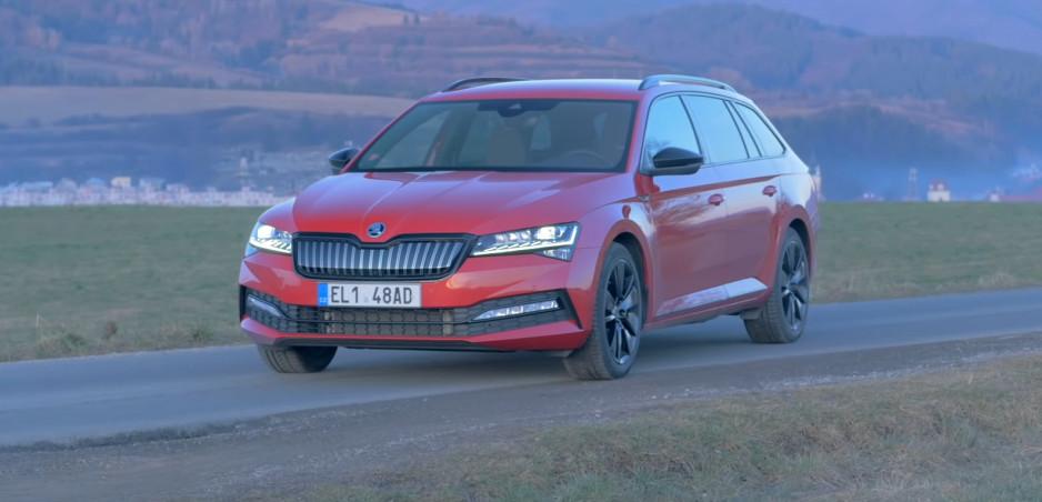 Test: Hybridná Škoda Superb príjemne prekvapila dotiahnutím detailov