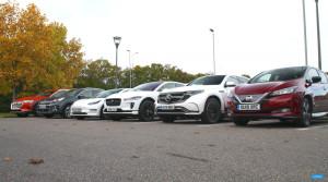 Briti postavili proti sebe šesť elektromobilov. Ktorý došiel najďalej?