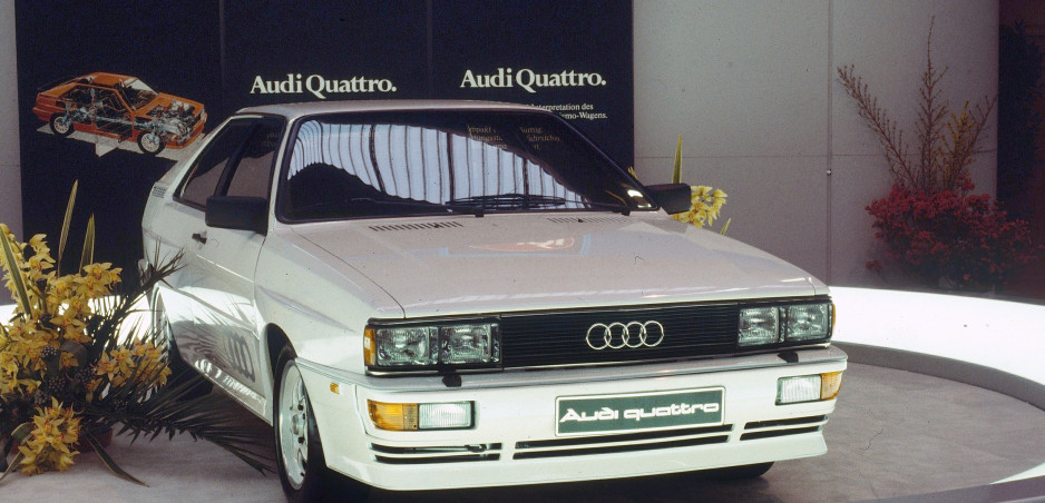 Audi predstavilo quattro pred 40-timi rokmi. Revolúciu odštartoval armádny off road