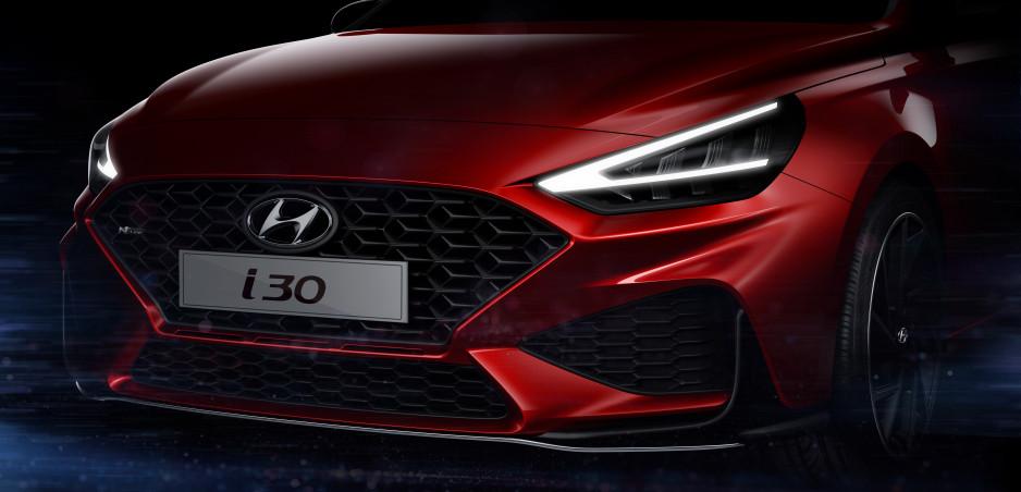 Modernizovaný Hyundai i30 sa ukazuje na prvých fotkách