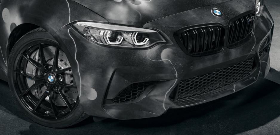 BMW M2 Competiton sa predstaví ako umelecké dielo