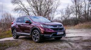 Test Honda CR-V: Silný benzín, sedem sedadiel
