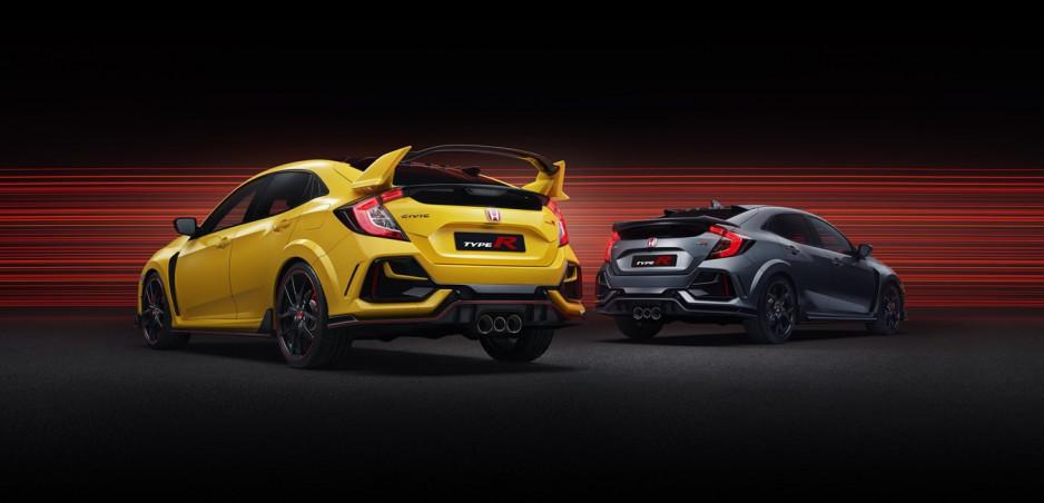 Honda rozširuje rad modelov Civic Type R o Sport Line a Limited Edition