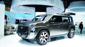 Koncept Toyota TJ Cruiser je minivan a SUV v jednom.Sériový nástupca príde zrejme v máji
