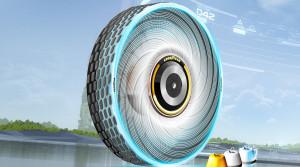 Goodyear predstavil revolučný koncept samoobnovovacej pneumatiky