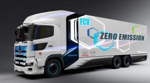 Toyota vyvíja vodíkové nákladné auto
