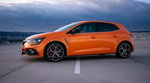 Test Megane RS Trophy EDC